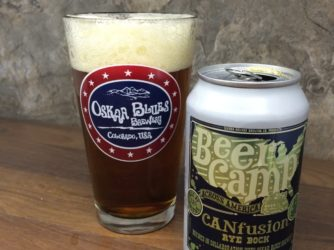 Review: CANfusion Rye Bock (Beer Camp 2014) by Sierra Nevada & Oskar Blues