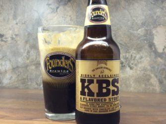Founders Brewing – KBS Stout Float