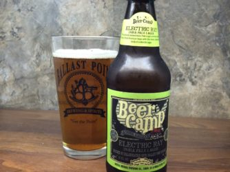 Review: Electric Ray IPL (Beer Camp 2014) by Sierra Nevada & Ballast Point