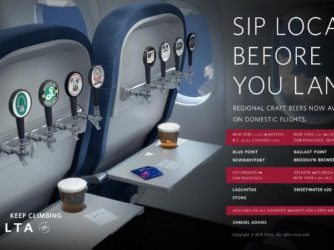 """Sip Local Before You Land"" – Delta Airlines Tapping Into Craft Beer"