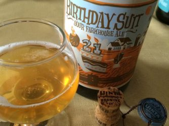 Review: 21st Birthday Suit Sour by Uinta Brewing Co.