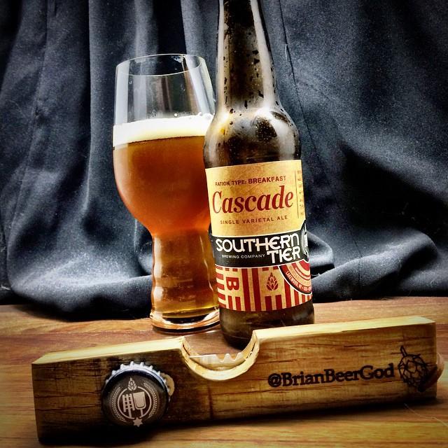 @stbcbeer Cascade single varietal ale with my custom @yopeners