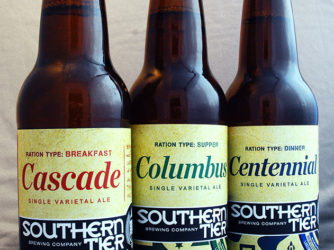 Review: C-Ration (Single Varietal IPAs) by Southern Tier Brewing Co