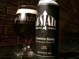 Upstate Brewing – Common Sense