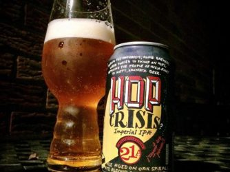 21st Amendment Brewing – Hop Crisis DIPA