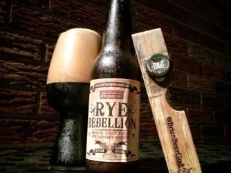 Review: Rye Rebellion Imperial Stout Aged in Rye Whiskey Barrels by Full Pint Brewing Co.
