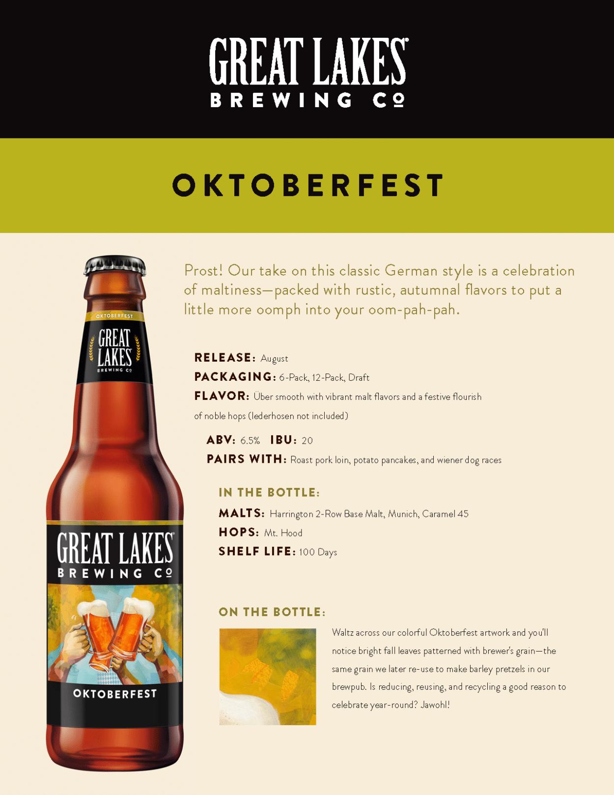Oktoberfest Sell Sheet