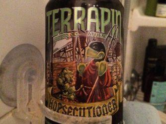 @terrapinbeerco fulfilling my #showerbeer needs tonight