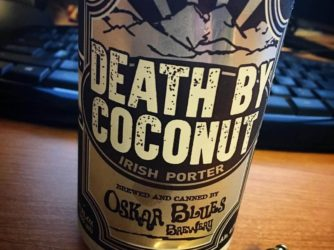 Review: Death by Coconut by Oskar Blues Brewery