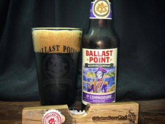 Review: The Commodore American Stout by Ballast Point Brewing Co.