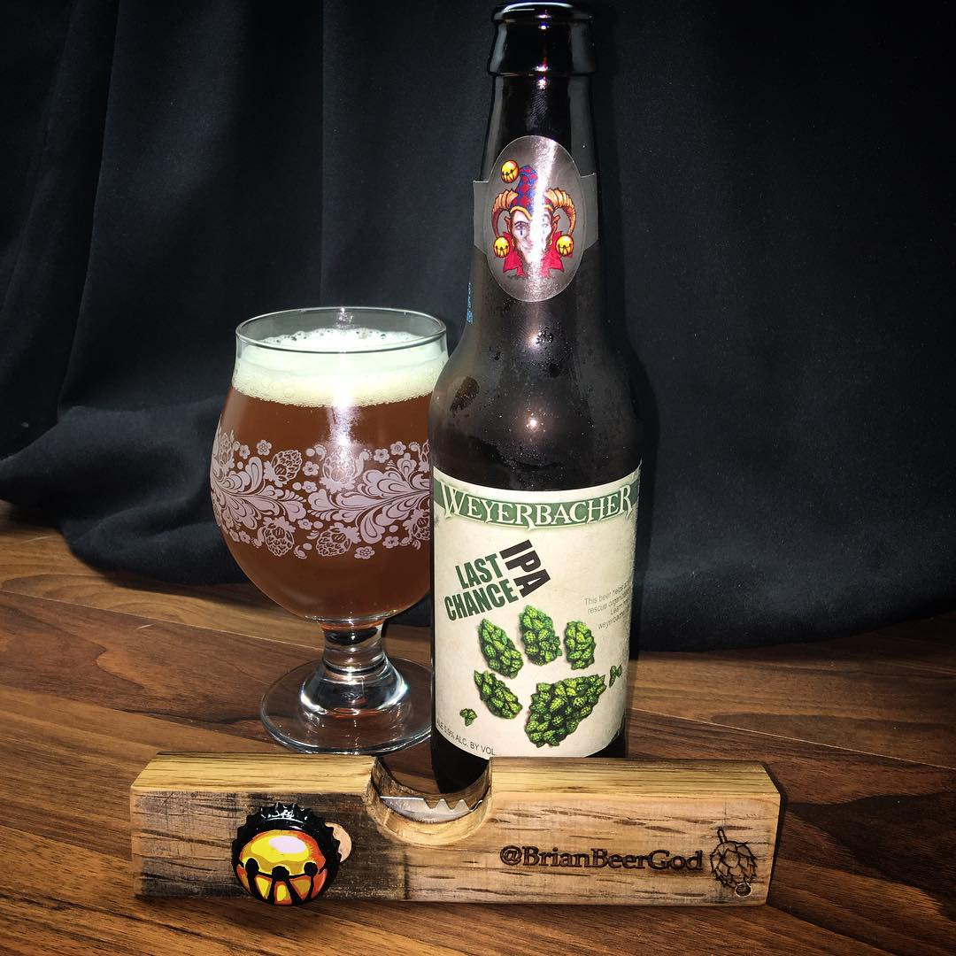 @weyerbacher_brewing Last Chance IPA - absolutely delicious beer.