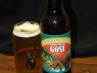 Briney Melon Gose by Anderson Valley Brewing Co.