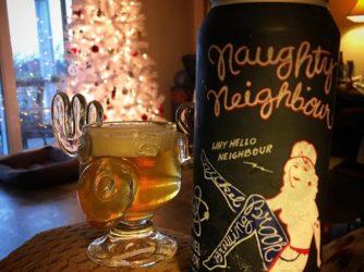 @nickelbrookbrewing Naughty Neighbour Pale Ale in my amazing #christmasvacation moose mug