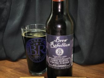 @brewrebellion Chris Martin S'more Porter with Habanero