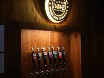 Also hit up @nakeddove – what awesome people, really straightforward brews from knowledgable staff. My favorites were the DIPA and the Porter.