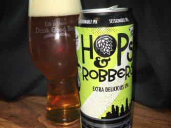 @doubletroublebrewing Hops & Robbers Extra Delicious IPA