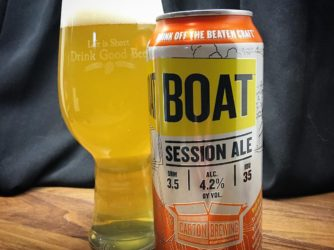 @cartonbrewing Boat Session Ale – I wish I could get this more often. This is amazing.