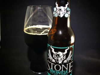@stonebrewingco Xocoveza (and trying out my new photo box and lights)