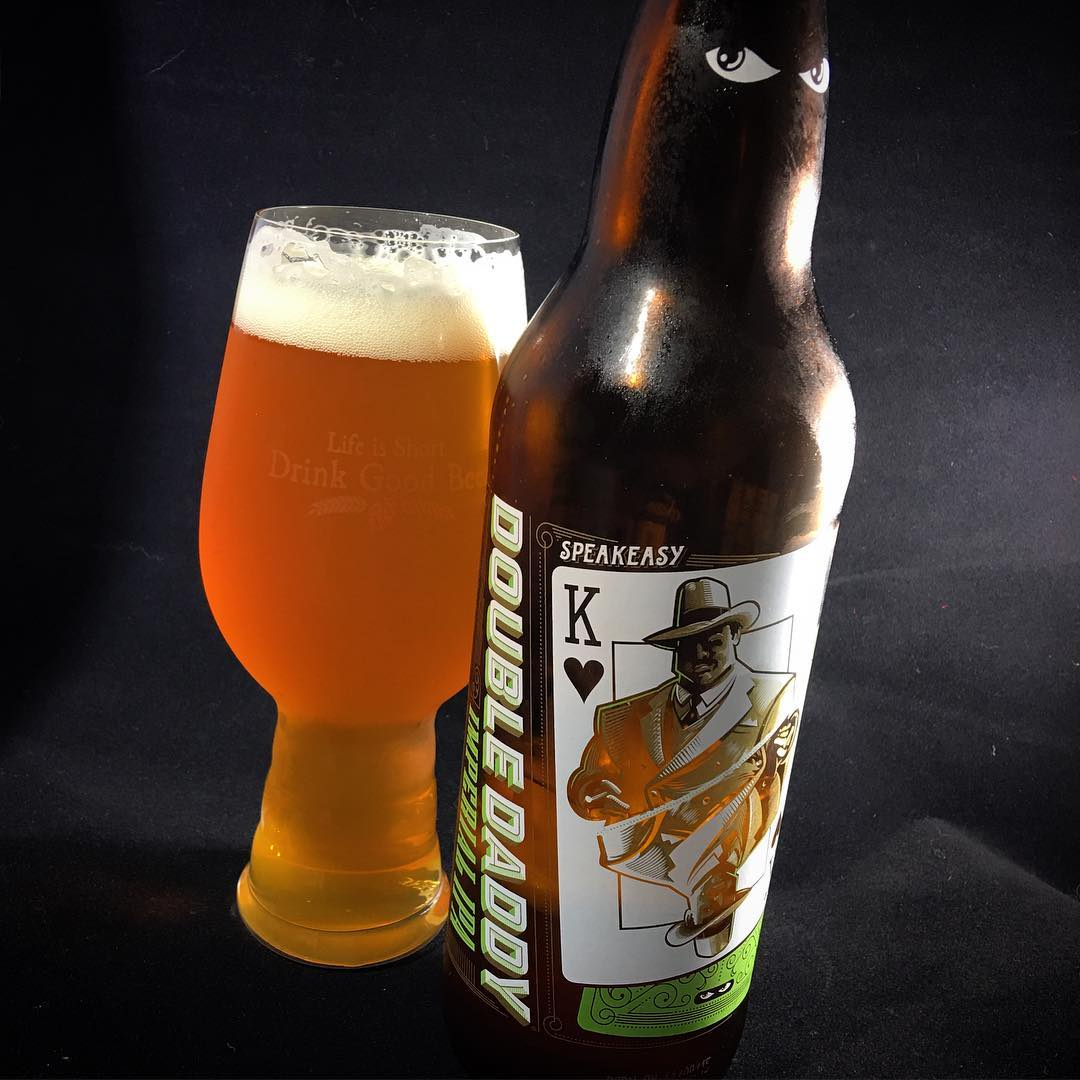 @speakeasybeer Double Daddy courtesy of @the_brew_dude - this is how you enjoy the Super Bowl