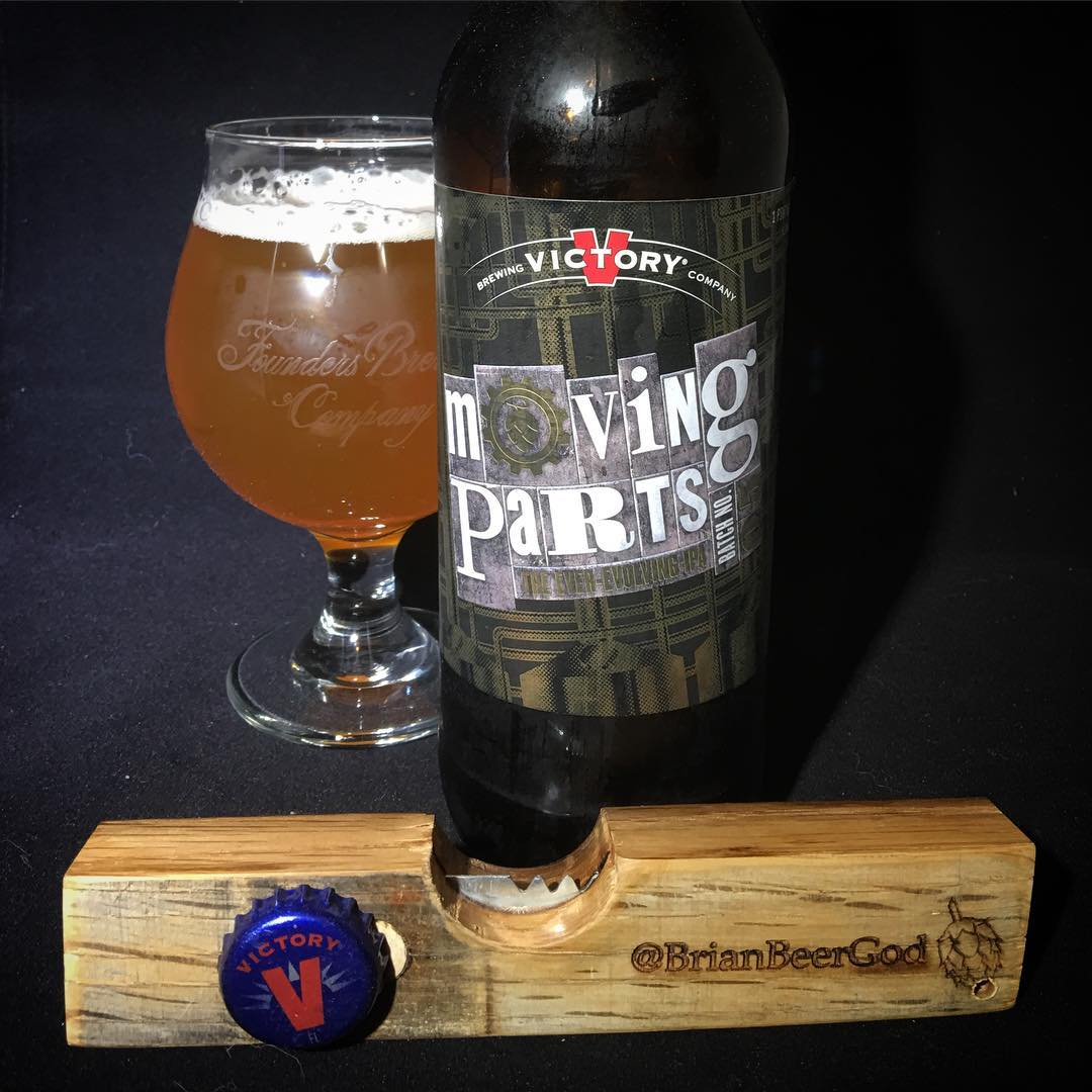@victorybeer Moving Parts The Ever-Evolving IPA # 05