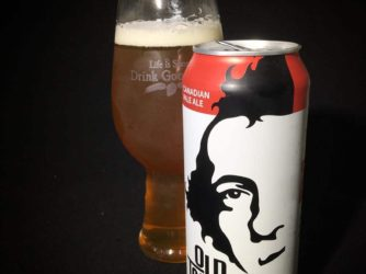 @oldtomorrowbeer Canadian Pale Ale – balanced, actually almost too malty. Not getting much hops at all.