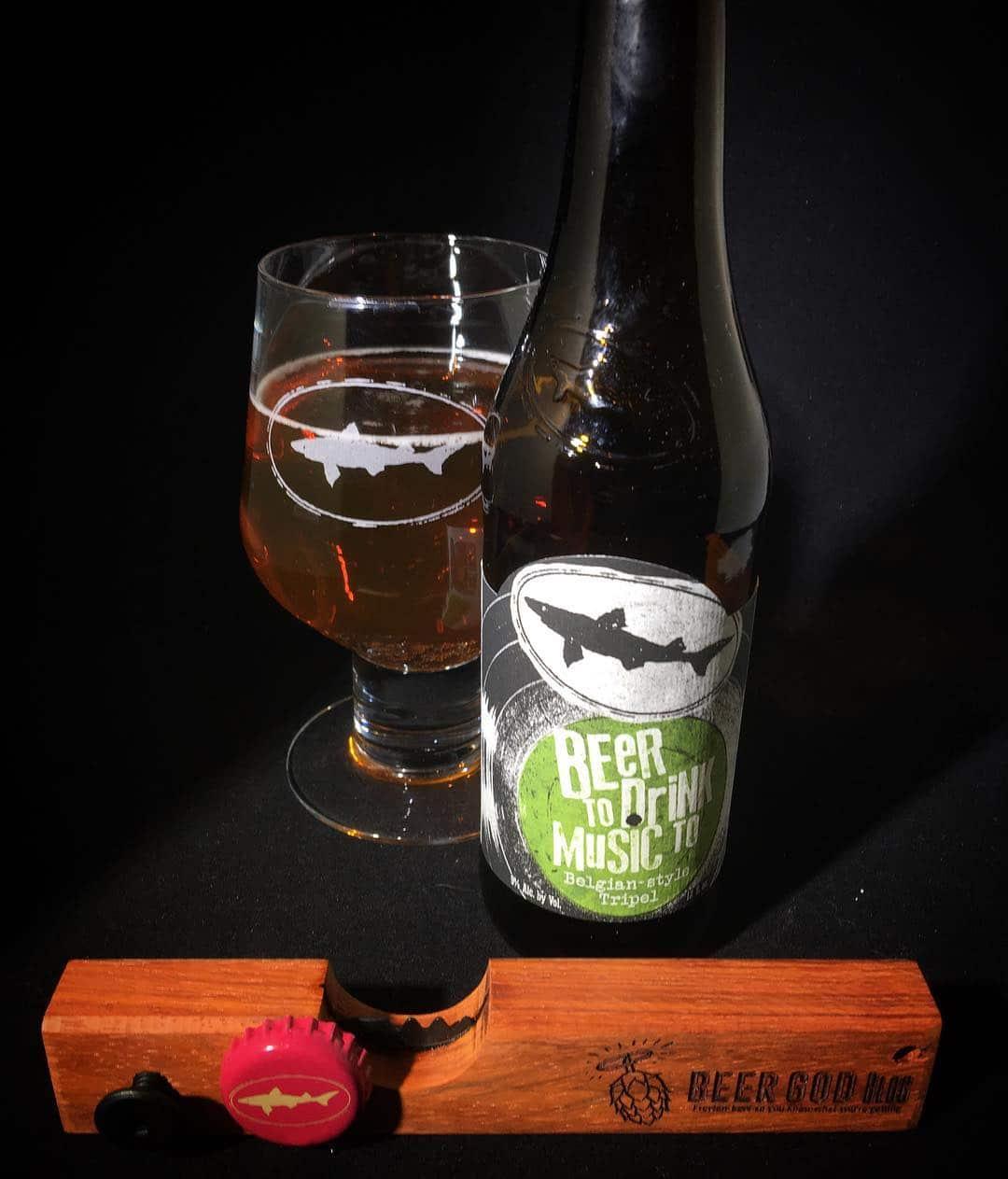 @dogfishbeer Beer to Drink Music To Belgian Tripel