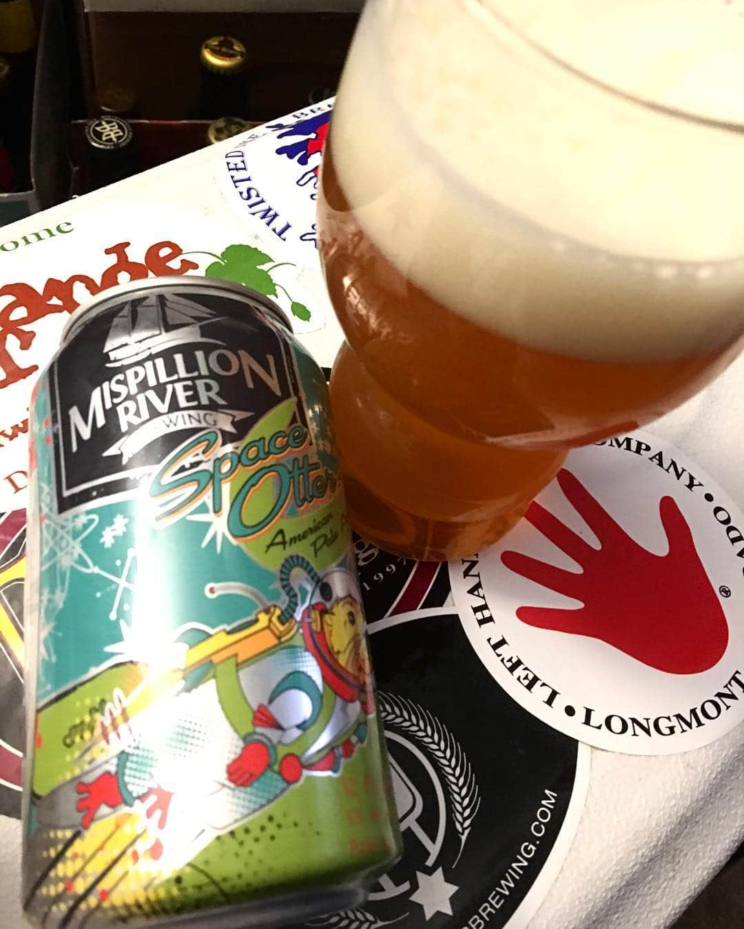 @mispillion Space Otter American Pale Ale