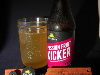 Review: Passion Fruit Kicker by Green Flash – @greenflashbeer