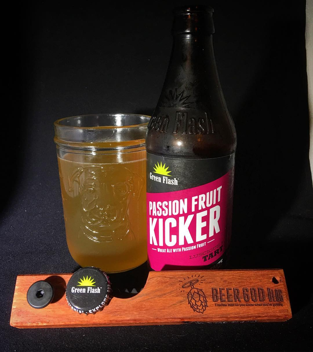 @greenflashbeer Passion Fruit Kicker