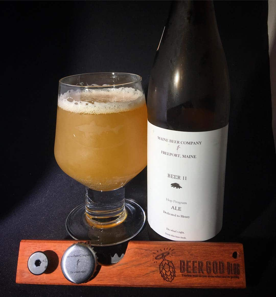 @mainebeerco Beer II - a session IPA