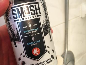 Review: SMaSH Project 2 Maris Otter/Mosaic by Long Trail Brewing