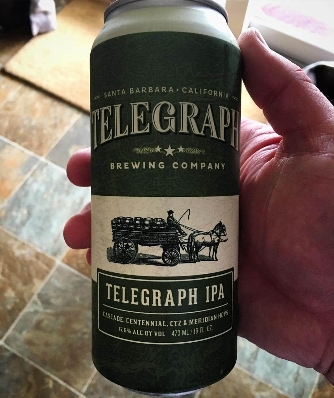 @telegraphbrewing Telegraph IPA