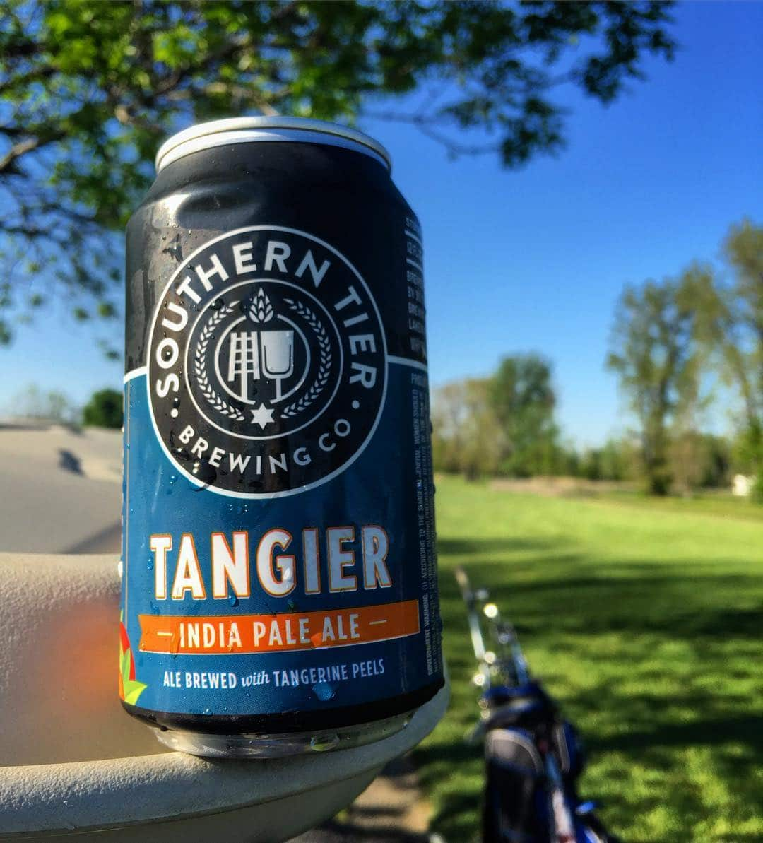 @stbcbeer Tangier on the golf course. Nice and refreshing.
