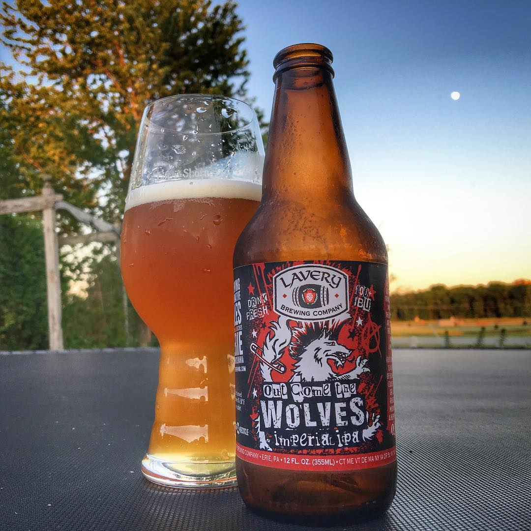 @laverybrewingco Out Come The Wolves IIPA