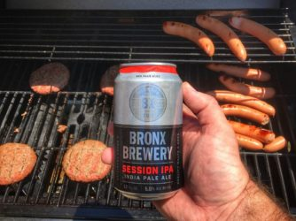 Review: Session IPA by Bronx Brewery