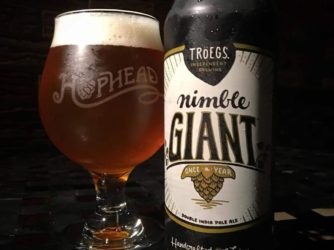 Review: Nimble Giant by Troegs Brewing Co