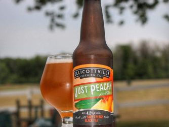 Review: Just Peachy by Ellicottville Brewing Co