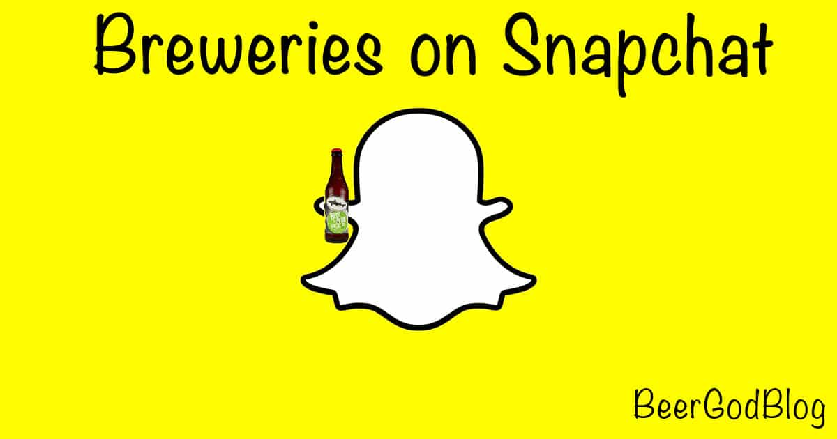 Breweries-on-Snapchat