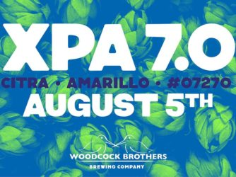 Event: Woodcock Brothers XPA 7.0 Release at Brewed and Bottled – Lewiston, NY