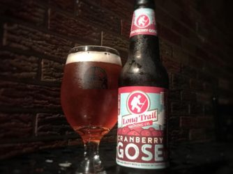 Review: Cranberry Gose by Long Trail Brewing