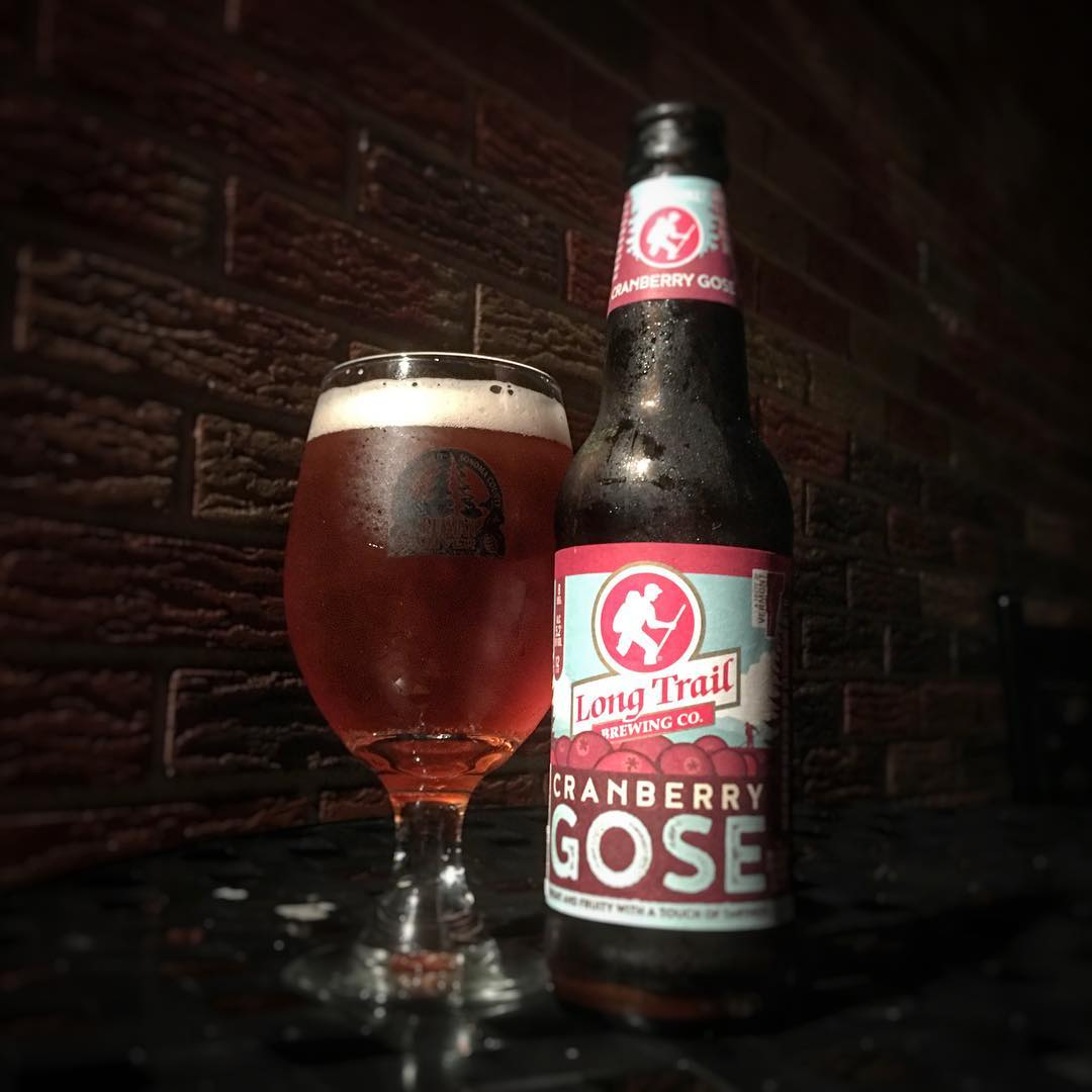 @longtrailbeer Cranberry Gose - these flavors work really well together.