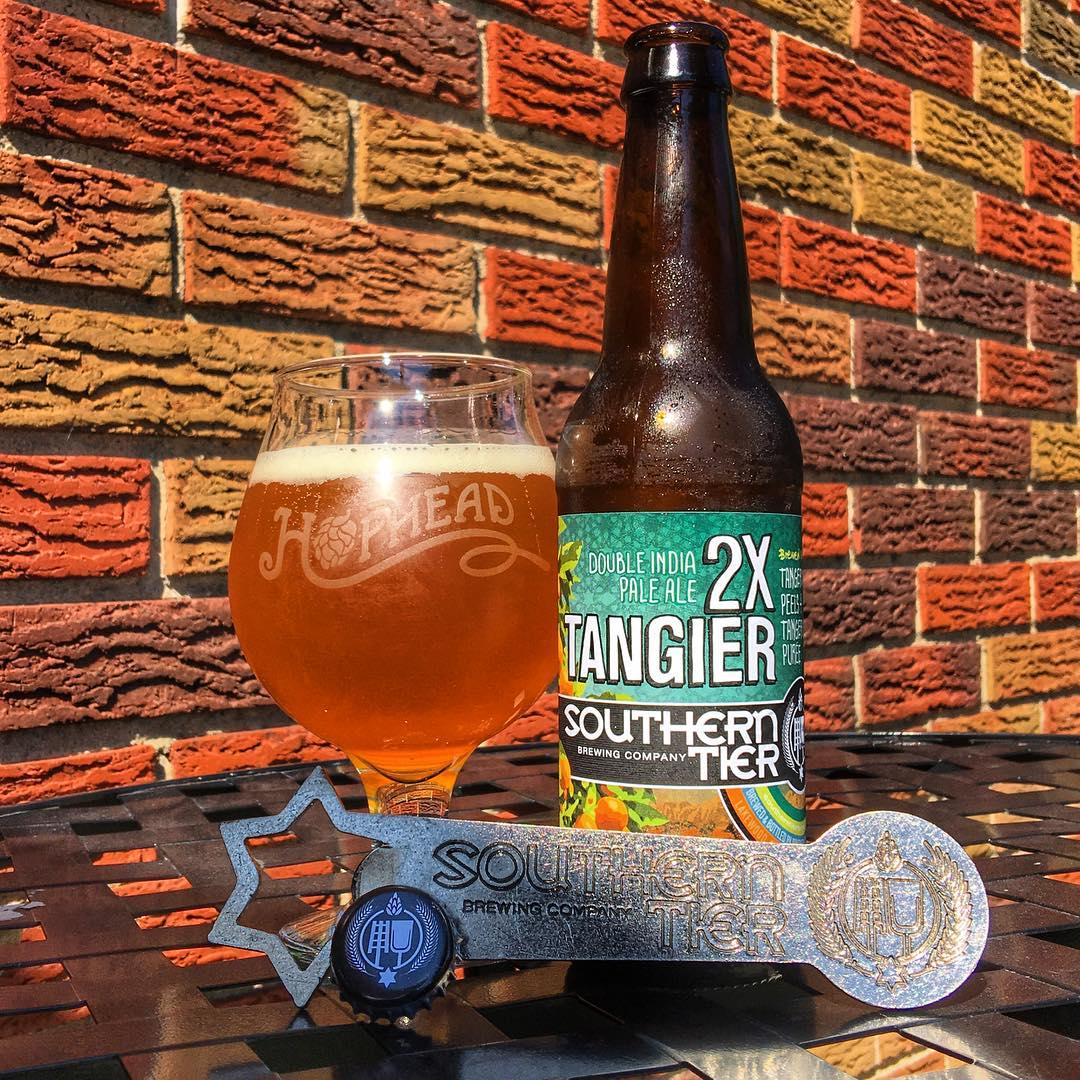 @stbcbeer 2X Tangier - it's rare that I like a non-imperial version more, but Tangier is SO easy to drink on a hot day. The 2x isn't giving me enough more to be incredible. That being said, it's still really good.