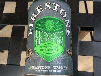 Review: Luponic Distortion 002 by Firestone Walker Brewing Co.