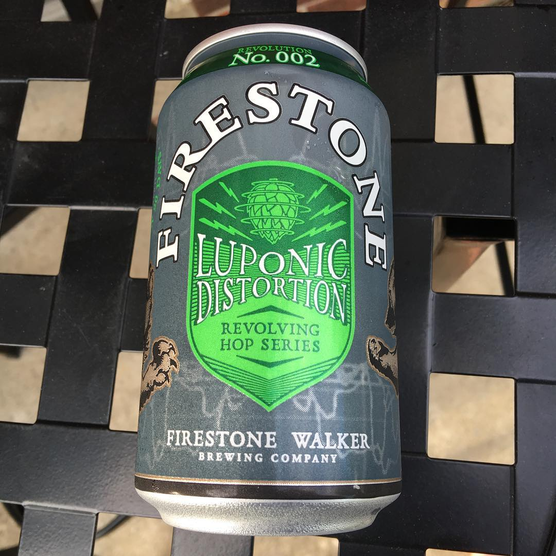 Less than a month old @firestonewalker Luponic Distortion #2