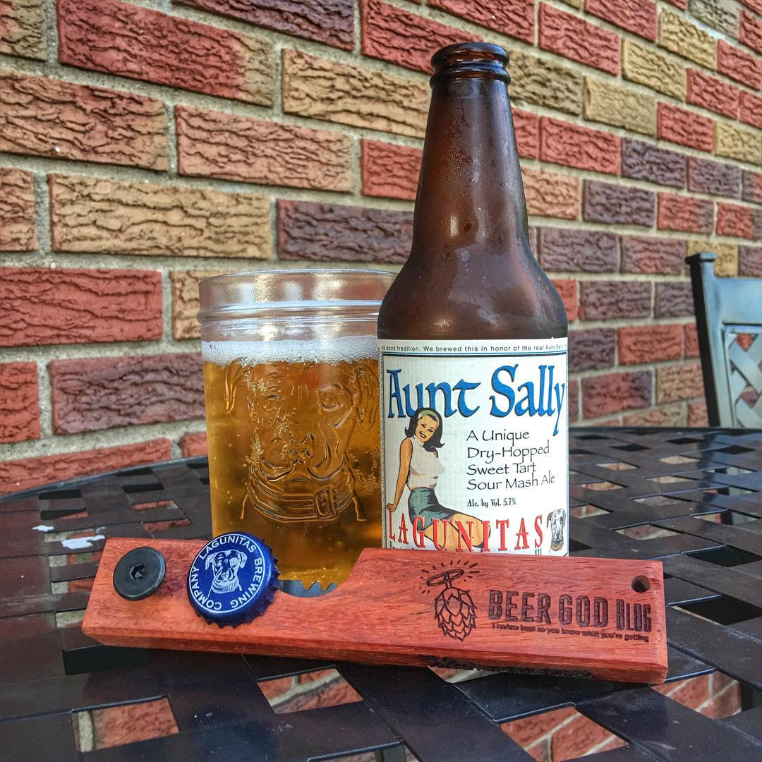 @lagunitasbeer Aunt Sally - this has an awesome flavor, both hoppy and sour.
