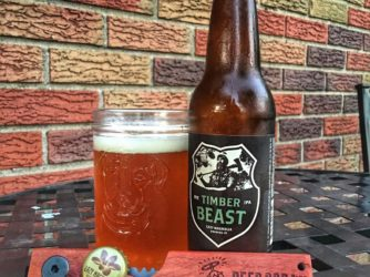 Review: Timber Beast Imperial Rye Pale Ale by Lazy Magnolia