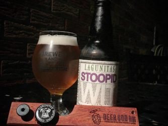 Review: Stoopid Wit by Lagunitas Brewing Co.