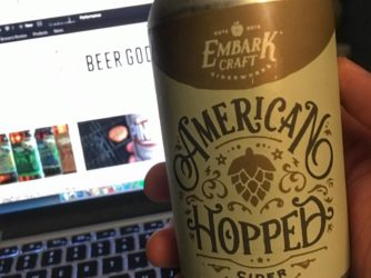 Review: American Hopped Cider by Embark Craft Ciderworks