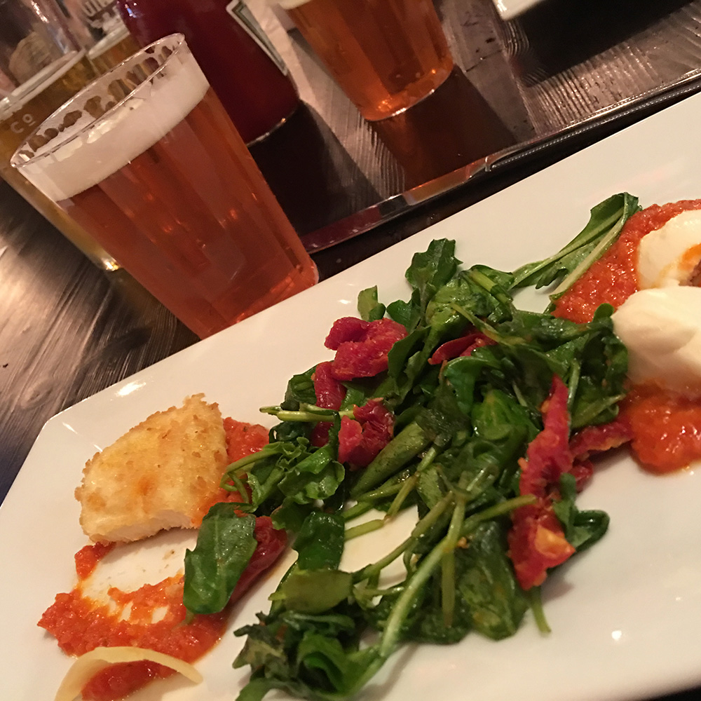 Course 1 - Spicy Mozz & Mad Tom