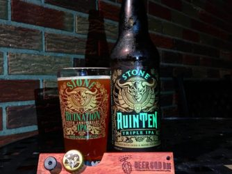 Review: RuinTen Tripe IPA (2016) by Stone Brewing Co.